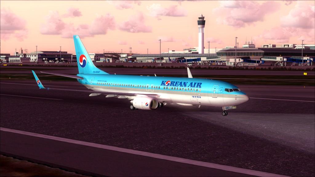 B738 Korean Air -> Seul-Nagoya RKSI-RJGG27