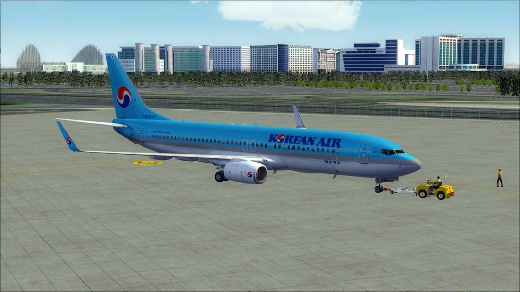B738 Korean Air -> Seul-Nagoya RKSI-RJGG3