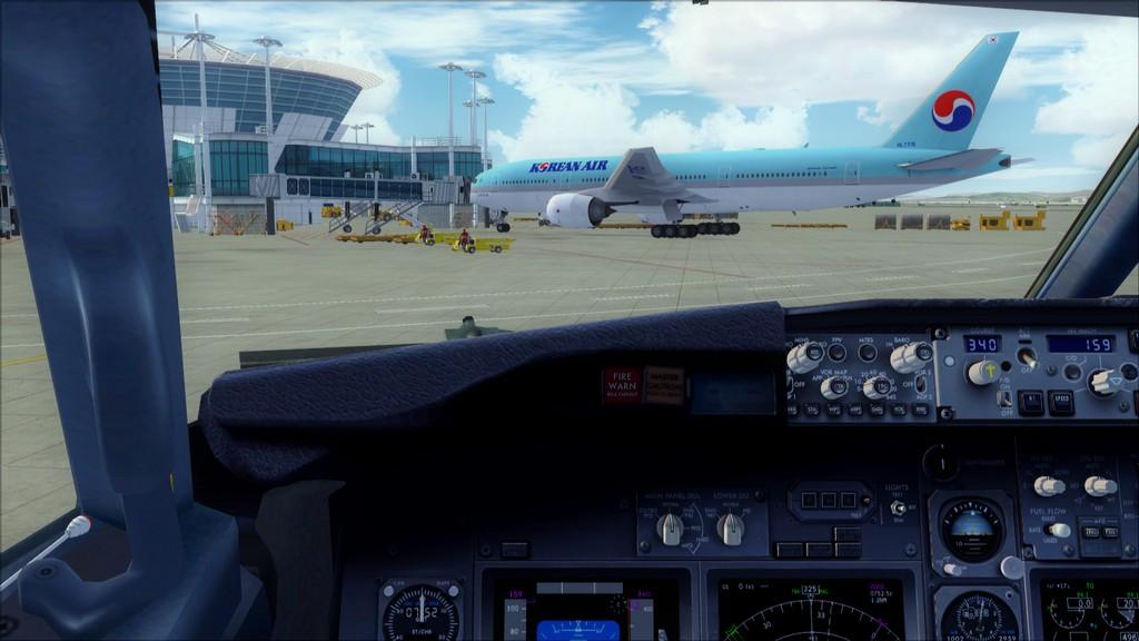 B738 Korean Air -> Seul-Nagoya RKSI-RJGG4
