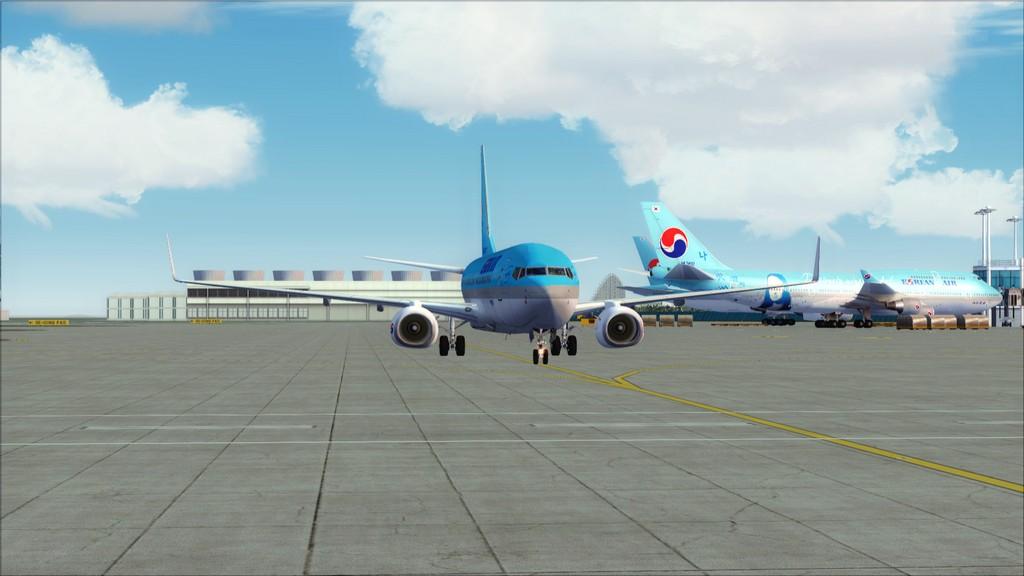 B738 Korean Air -> Seul-Nagoya RKSI-RJGG5