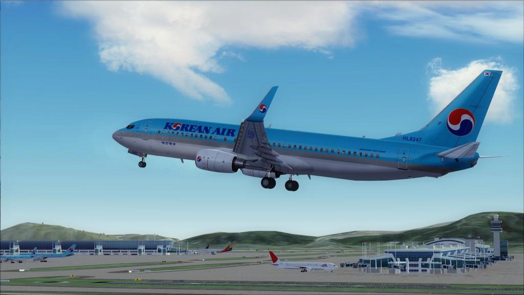 B738 Korean Air -> Seul-Nagoya RKSI-RJGG6