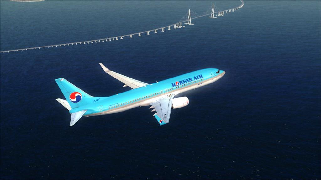 B738 Korean Air -> Seul-Nagoya RKSI-RJGG7