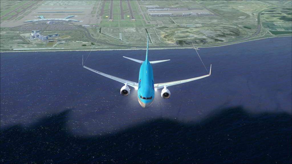 B738 Korean Air -> Seul-Nagoya RKSI-RJGG8