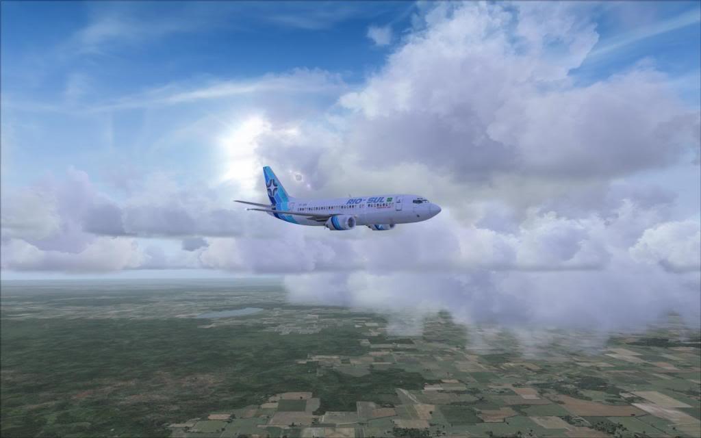 FSX-Voando pelo Brasil/Cuiabá SBCY1