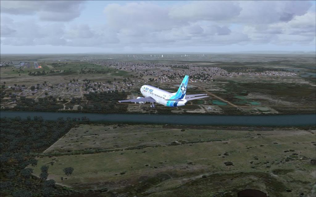 FSX-Voando pelo Brasil/Cuiabá SBCY10