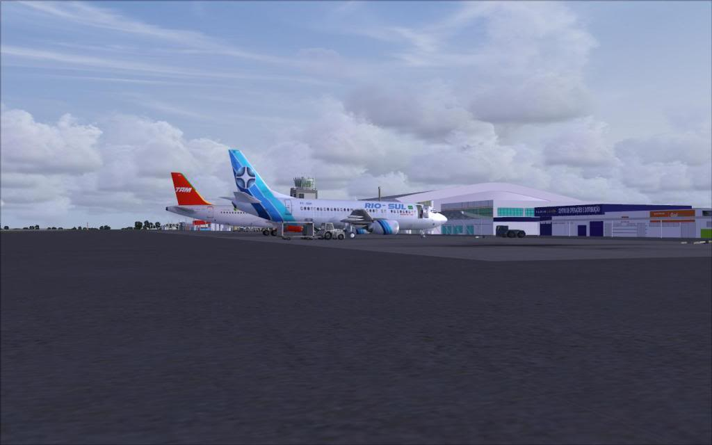 FSX-Voando pelo Brasil/Cuiabá SBCY12