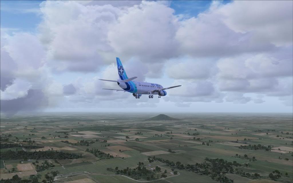 FSX-Voando pelo Brasil/Cuiabá SBCY3MorrodeStAntonio
