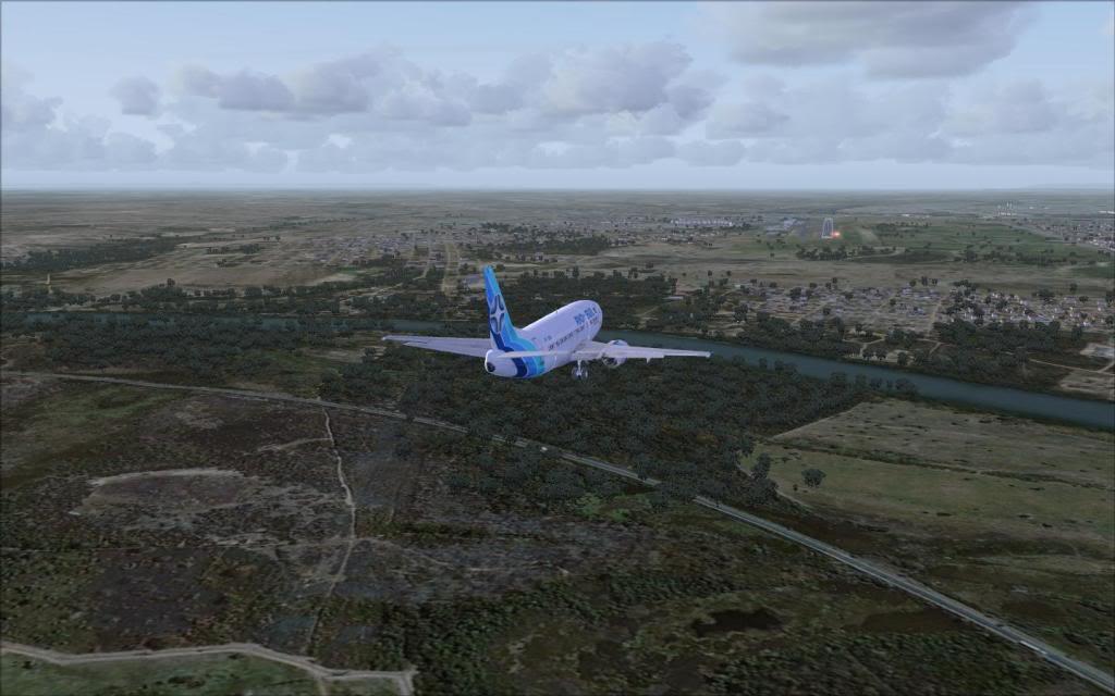 FSX-Voando pelo Brasil/Cuiabá SBCY9