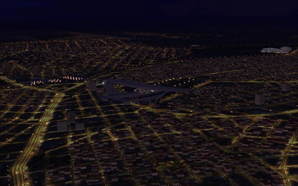 FSX-Uberlândia ao anoitecer 10