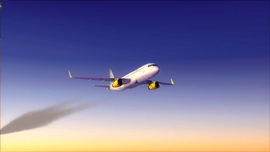 Meus voos com o Airbus X Extended VARIADAS