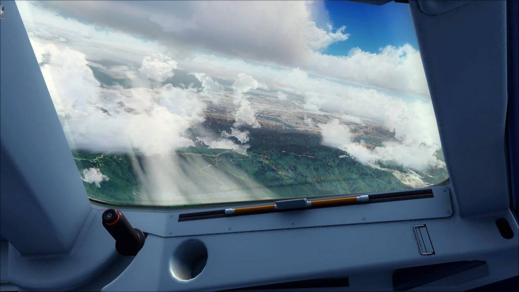 Meus voos com o Airbus X Extended VARIADAS10