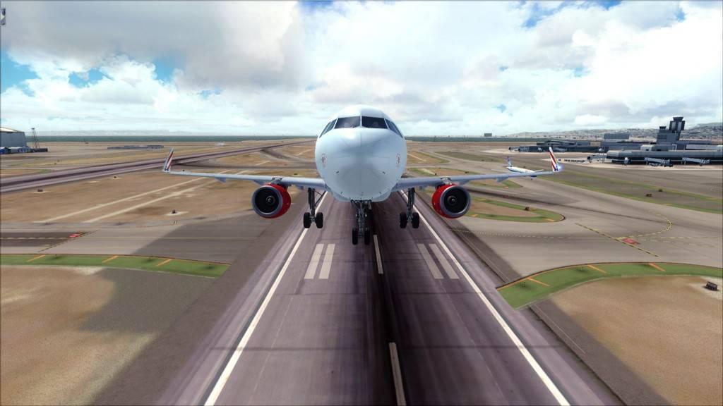 Meus voos com o Airbus X Extended VARIADAS11