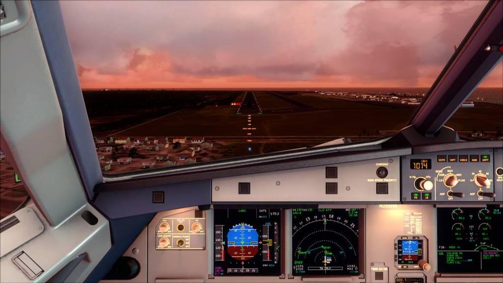 Meus voos com o Airbus X Extended VARIADAS13