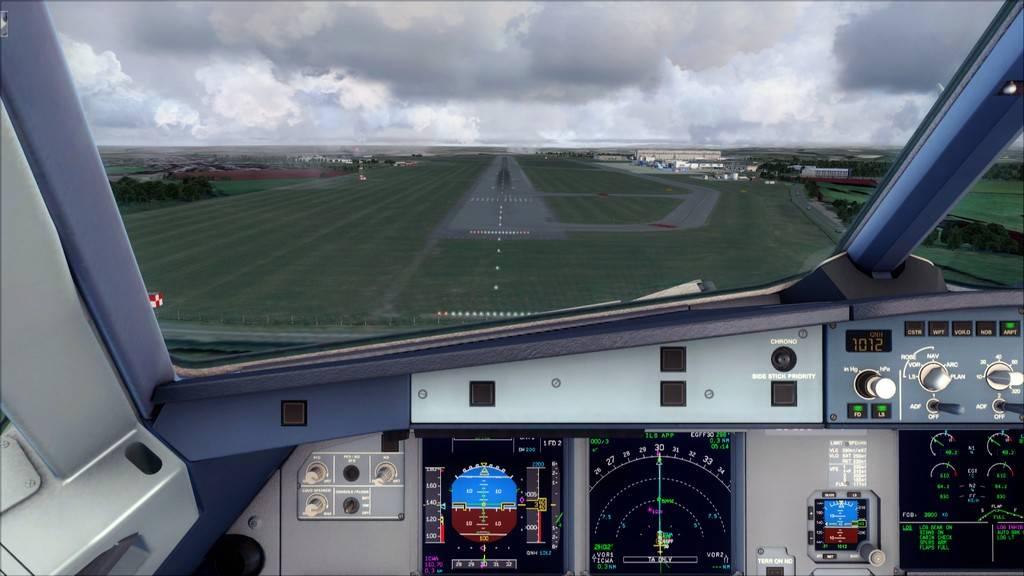 Meus voos com o Airbus X Extended VARIADAS16