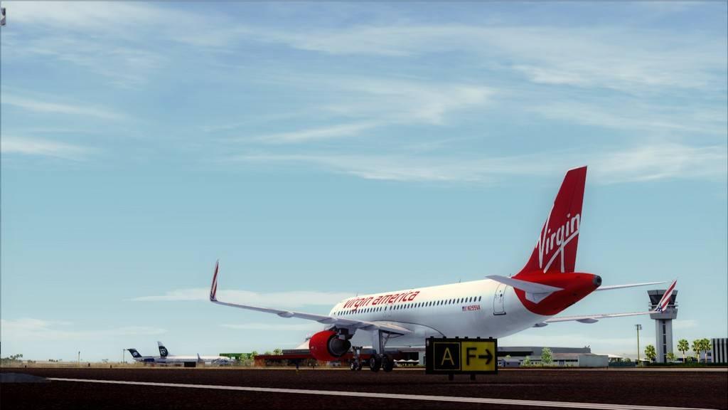 Meus voos com o Airbus X Extended VARIADAS17
