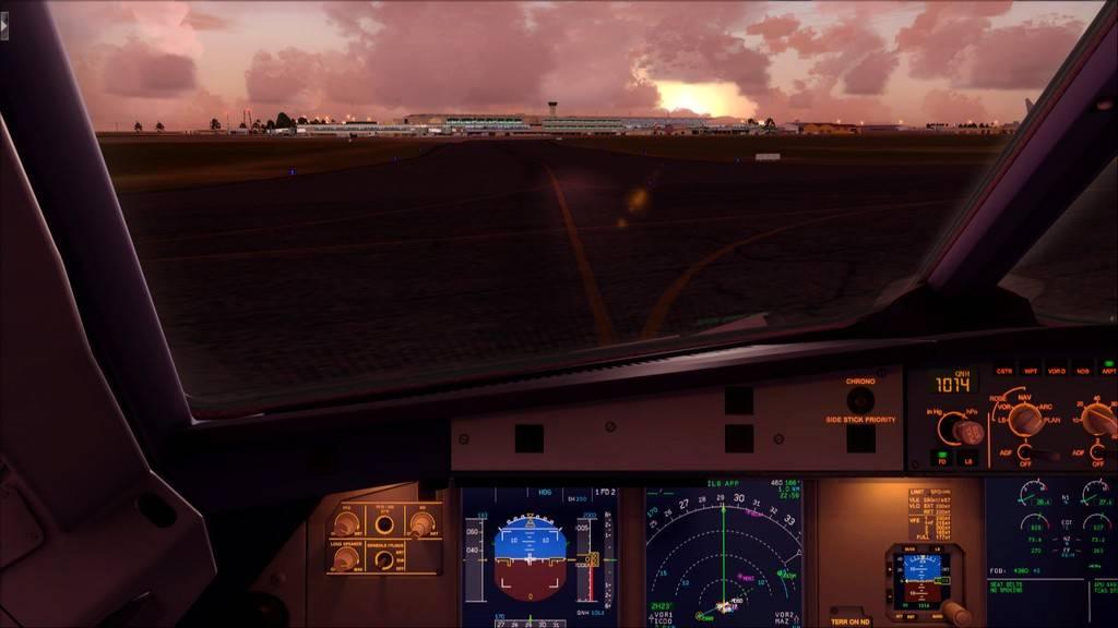 Meus voos com o Airbus X Extended VARIADAS20