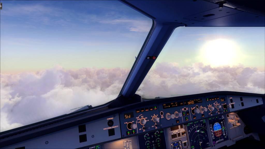 Meus voos com o Airbus X Extended VARIADAS21