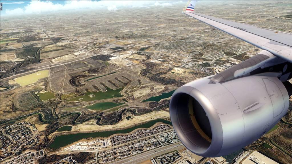 Meus voos com o Airbus X Extended VARIADAS23
