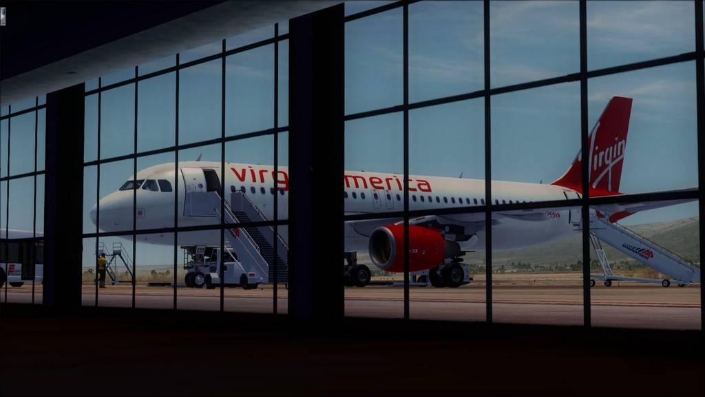 Meus voos com o Airbus X Extended VARIADAS24