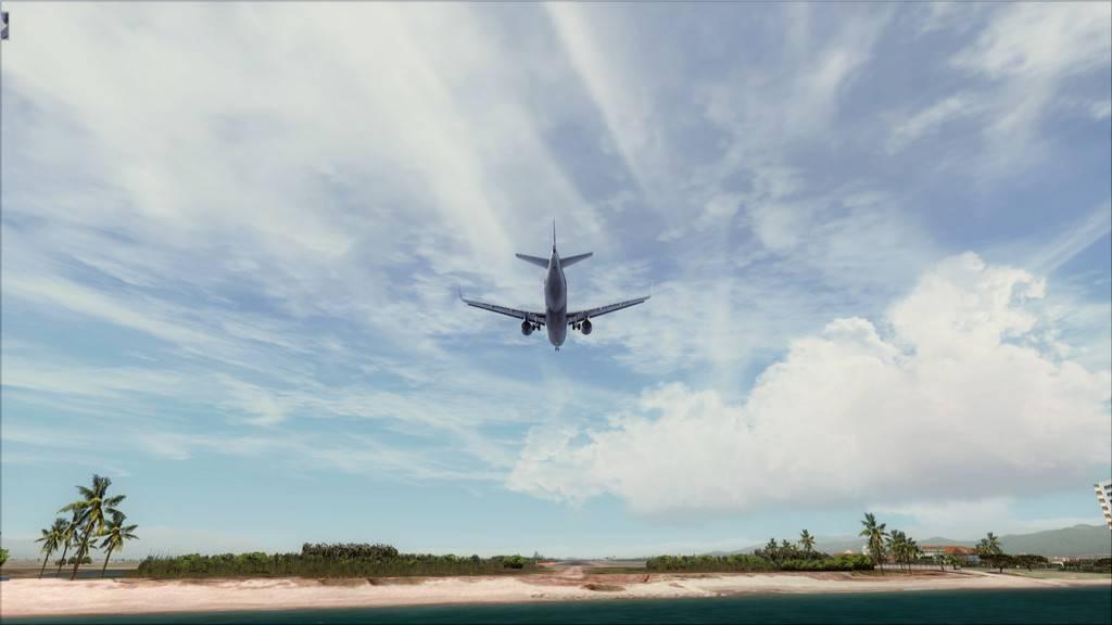 Meus voos com o Airbus X Extended VARIADAS25