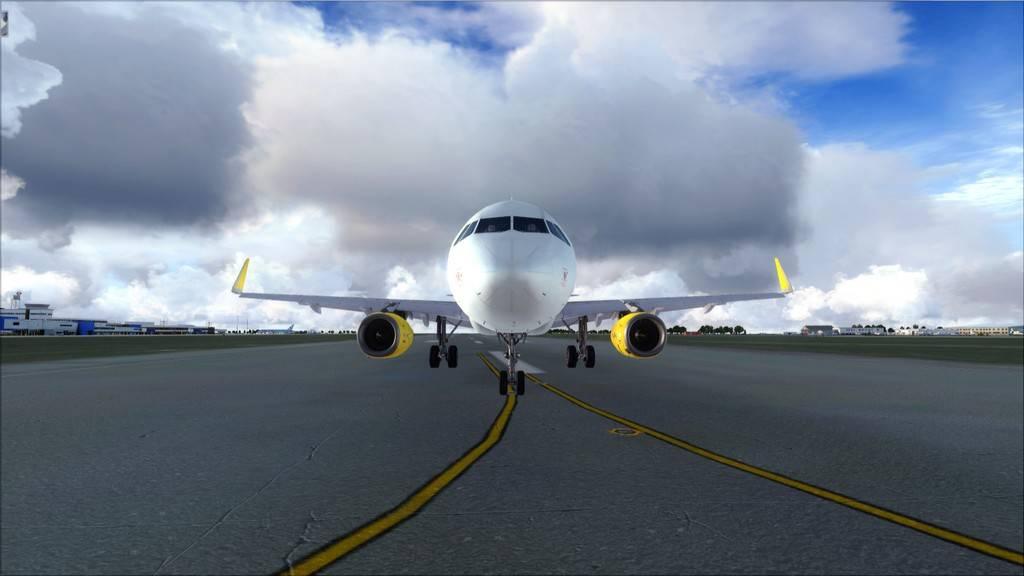 Meus voos com o Airbus X Extended VARIADAS5
