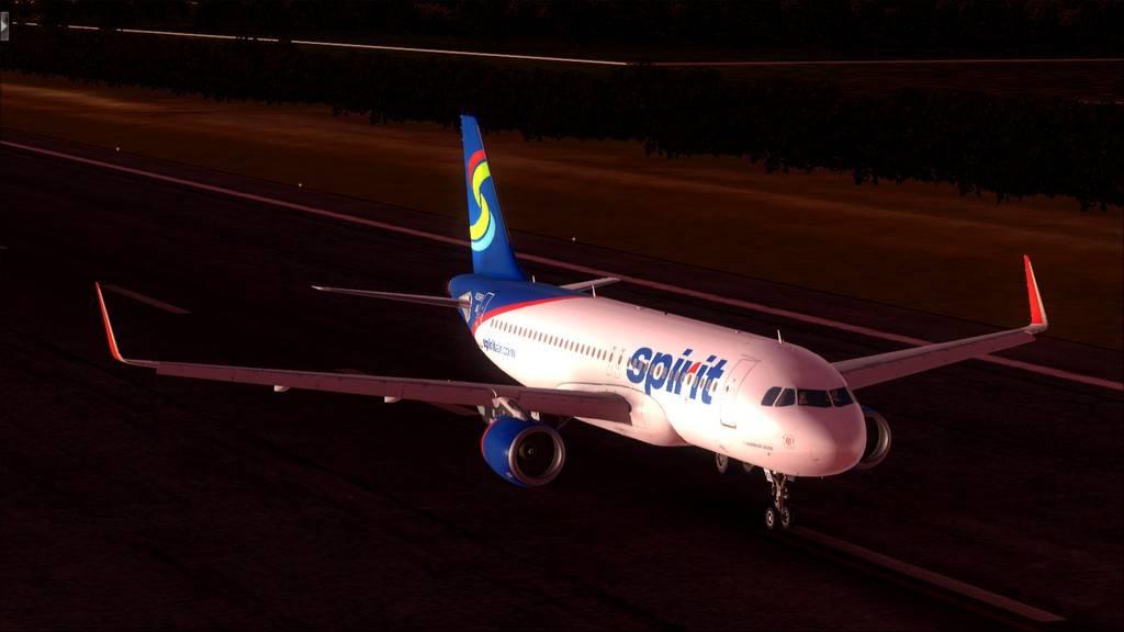 Meus voos com o Airbus X Extended VARIADAS7