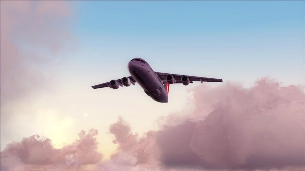 Quality Wings Avro. Algumas imagens EDDM-LSZH11