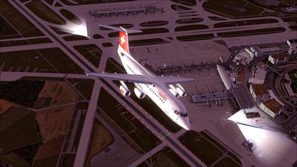 Quality Wings Avro. Algumas imagens EDDM-LSZH13