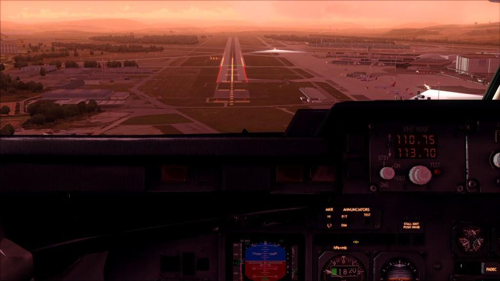 Quality Wings Avro. Algumas imagens EDDM-LSZH16
