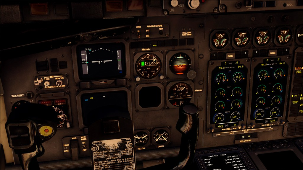 Quality Wings Avro. Algumas imagens LGIR-LGAV27