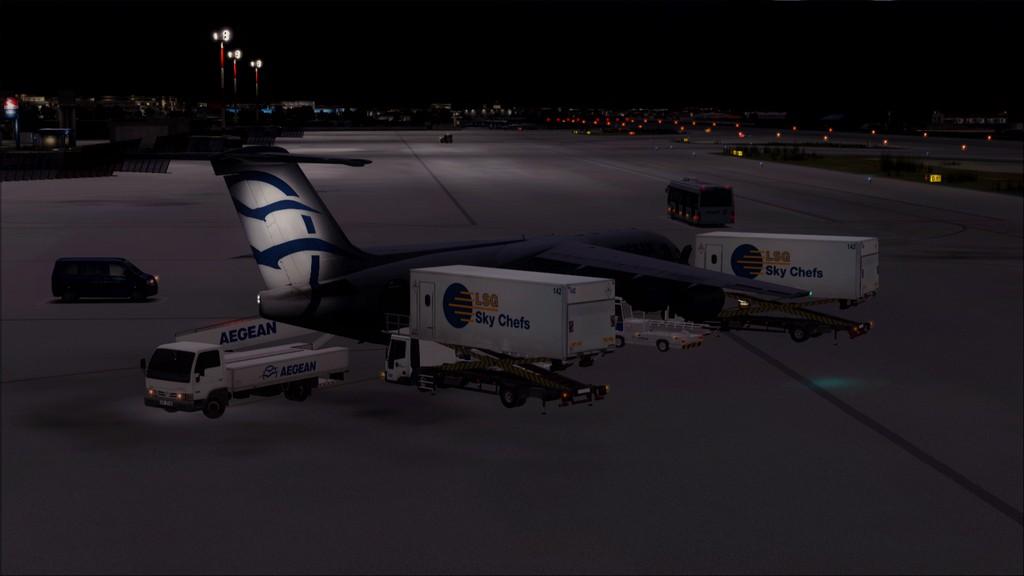 Quality Wings Avro. Algumas imagens LGIR-LGAV28