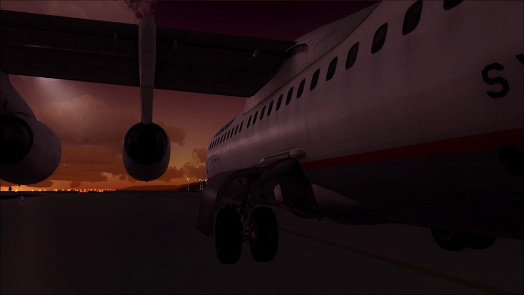 Quality Wings Avro. Algumas imagens LGIR-LGAV36