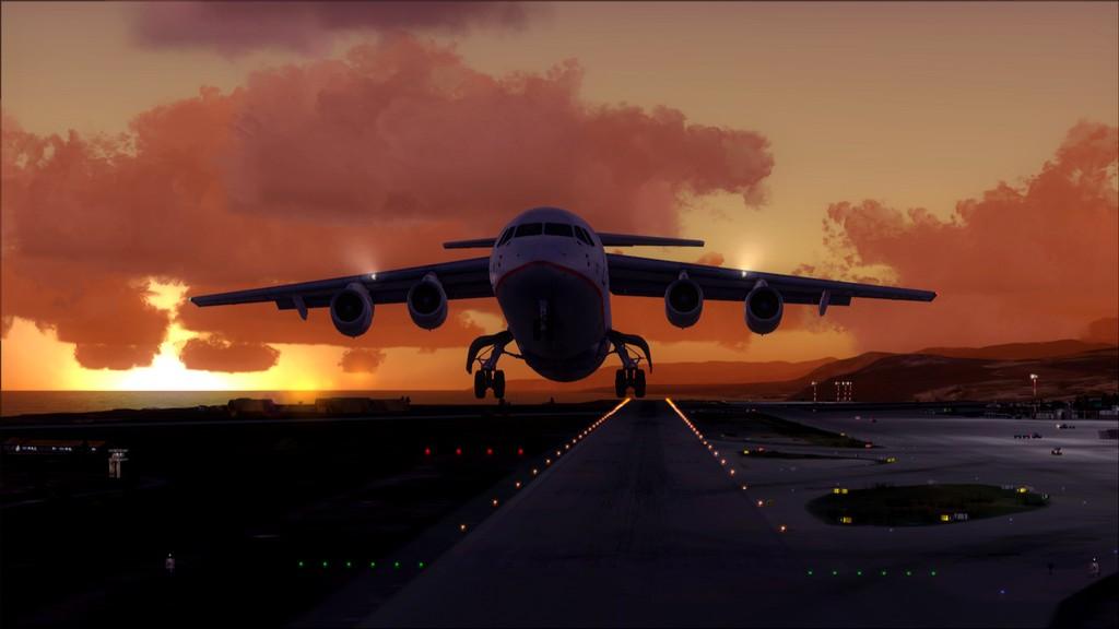 Quality Wings Avro. Algumas imagens LGIR-LGAV44