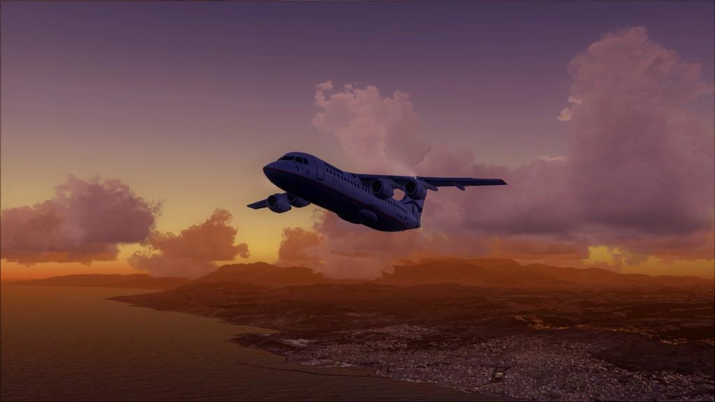 Quality Wings Avro. Algumas imagens LGIR-LGAV49