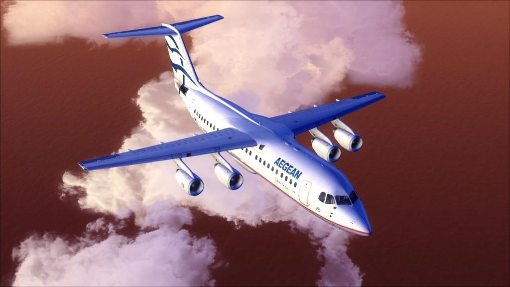 Quality Wings Avro. Algumas imagens LGIR-LGAV58