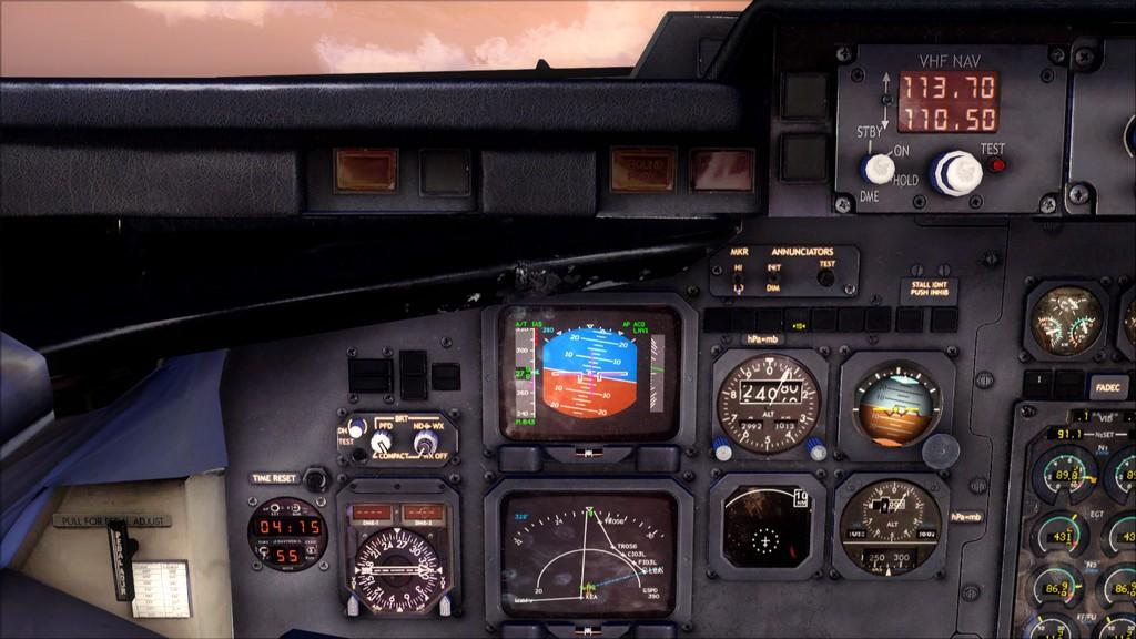 Quality Wings Avro. Algumas imagens LGIR-LGAV60