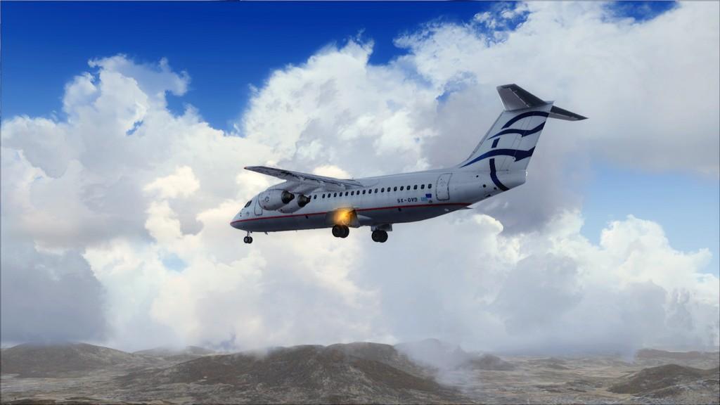 Quality Wings Avro. Algumas imagens LGIR-LGAV64