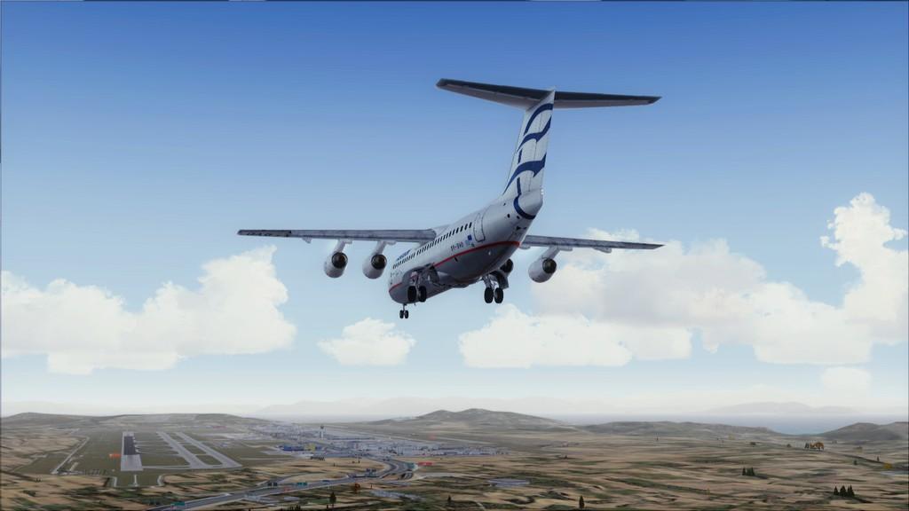 Quality Wings Avro. Algumas imagens LGIR-LGAV67