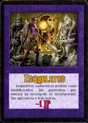 """30.05.1806 - 3ª Tarefa """"A Necrópole do Dragão"""" Esqueleto"""