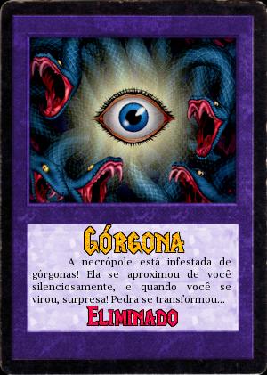 """30.05.1806 - 3ª Tarefa """"A Necrópole do Dragão"""" Grgona"""