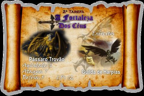 Fortaleza do Oeste - 2ª Tarefa do Torneio Passtrov
