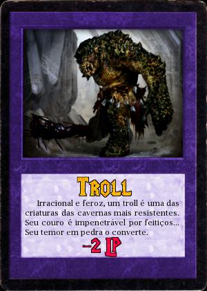 "30.05.1806 - 3ª Tarefa ""A Necrópole do Dragão"" Troll"
