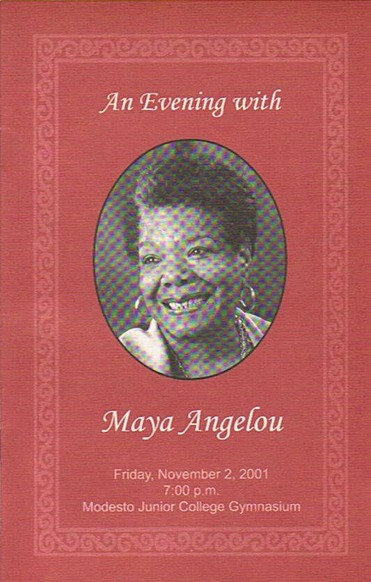 Maya Angelou's poem at the memorial Angelou_program_modesto