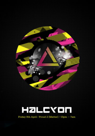 Halcyon at Proud2 - Infected Mushroom Live, DJ Tristan FRONT