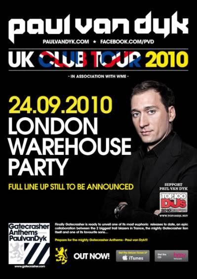 Paul van Dyk UK Club tour 2010 - Sept 24 PvD_UKCLUBTOUR2010_Template_A4