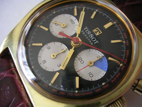 Vintage 70's Tissot Seastar DSCN4964