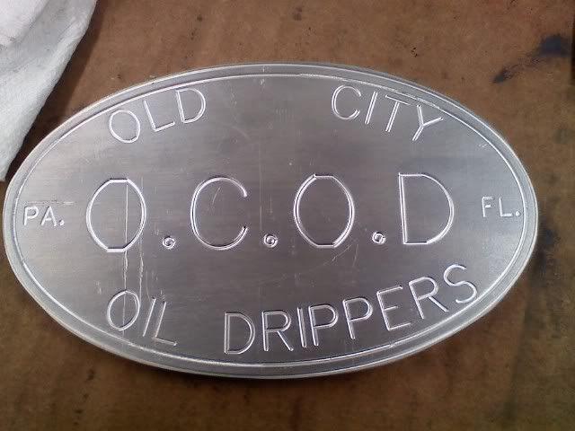 OCOD Metal Badges OCODBadge