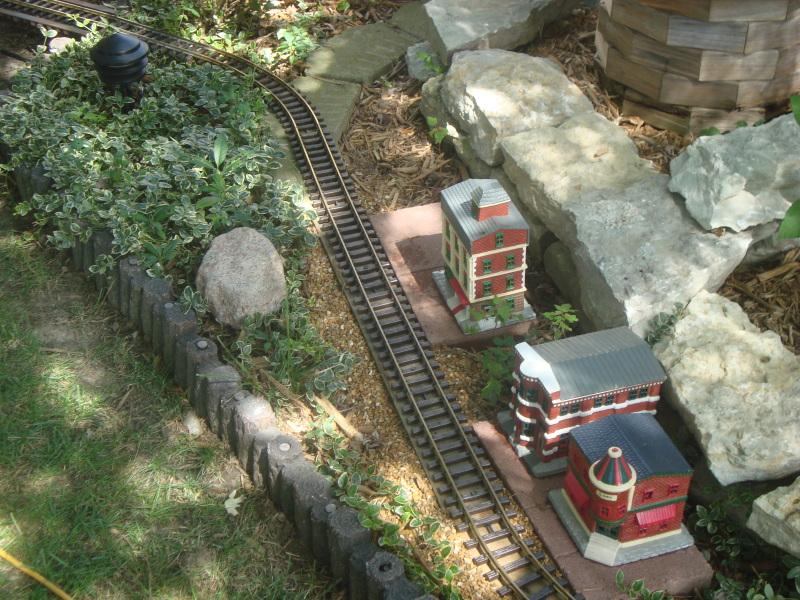 My new garden line under construction Gardenrailway002