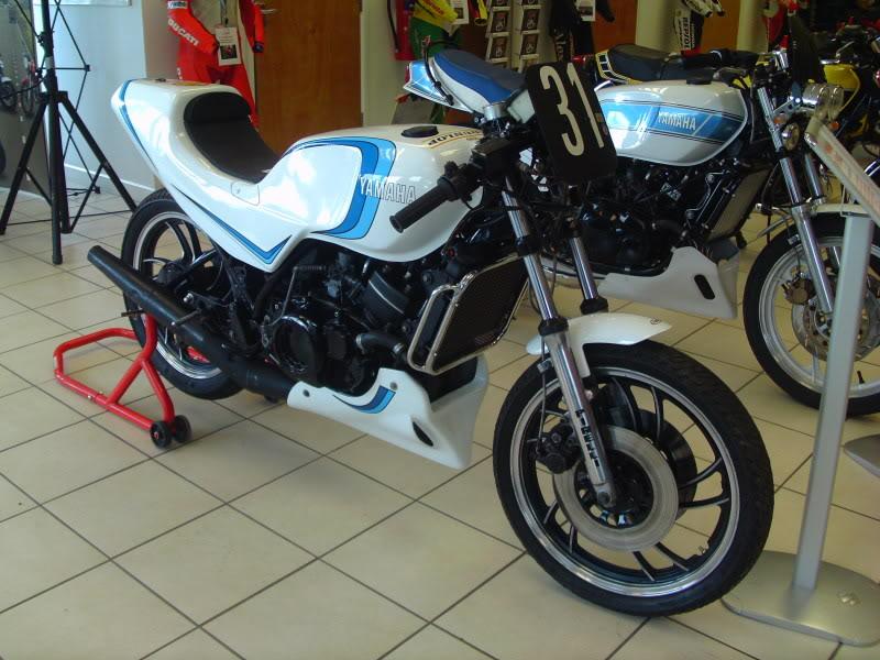 Yamaha day at the Motorcycle mart IMAG0197