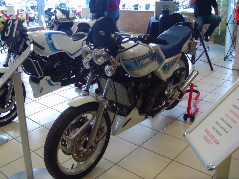 Yamaha day at the Motorcycle mart IMAG0198
